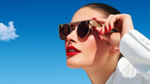 Snapchat's first hardware is video-capturing sunglasses