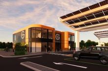 GRIDSERVE opens first solar-powered fully electric vehicle service station in Braintree, Essex