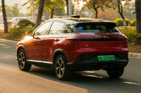 Chinese 'Tesla clone' EV startup Xpeng starts delivering electric SUVs to Europe