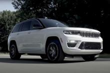 Jeep unveils new Grand Cherokee 4xe PHEV as part of its electrification plans