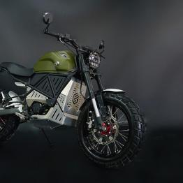EMGo ScrAmper e-motorcycle comes loaded with several unique tech specs